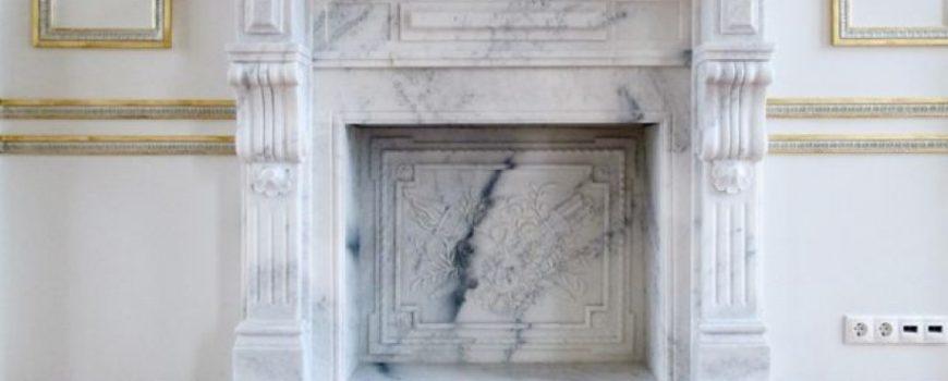 Облицовка каминов натуральным камнем от компании Armstone в СПБ