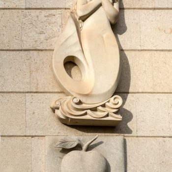 Барельеф из натурального камня