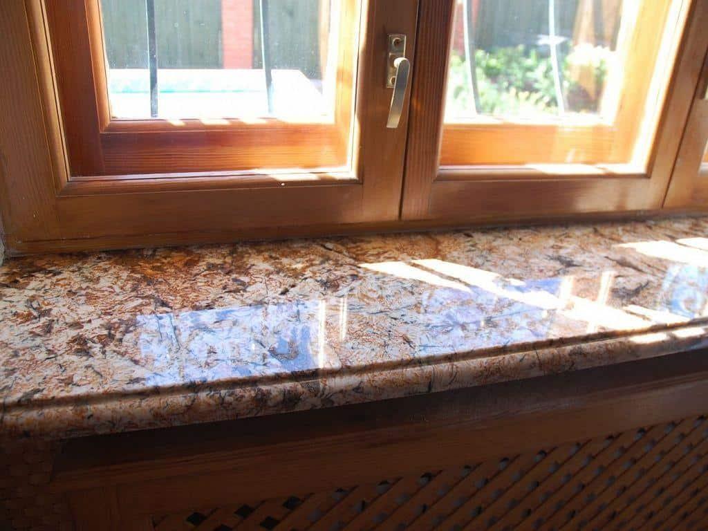 Подоконники из натурального камня от компании Armstone СПБ